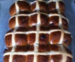 Choc Cross Buns