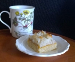 Apricot and Coconut Macaroon Slice