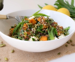 Cinnamon Pumpkin and Quinoa Salad