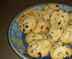 Gluten free currant and raisin biscuits