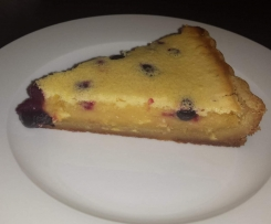 Lemon and Blueberry Shortcake Slice