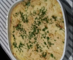Curry Tuna Bake with Crisps