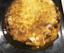 Mexican Lasagne - adapted from the Healthy Mummy
