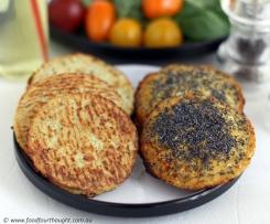 Cauliflower buns/rolls (No grains / gluten / nuts / soy / diary) Paleo / LCHF