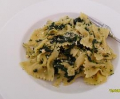 Pasta with Spinach (Pasta Verdura)
