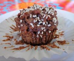 Chai Pear Muffins