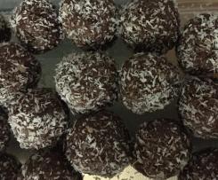 Nut free protein balls