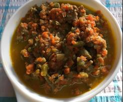 Buster's Dog Food Stew