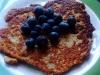 Chia, banana & oat pancakes