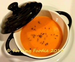 Speedy Spiced Sweet Potato and Tomato Soup