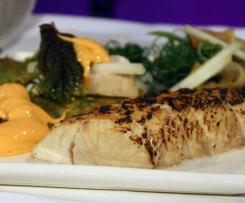 Miso steamed Kingfish
