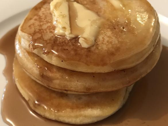 Old Fashioned Pancakes By Kelly L A Thermomix Sup Sup Recipe In The Category Basics On Www Recipecommunity Com Au The Thermomix Sup Sup Community
