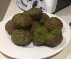 Green Smoothie Banana Muffins