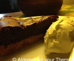 Dark & Stormy Baked Cheesecake