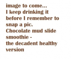 MUD SLIDE HEALTHY SMOOTHIE
