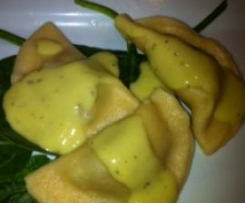 Pumpkin and Ricotta Ravioli