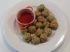Vietnamese Lemongrass & Pork Balls with Dipping Sauce (Varoma Steamed)