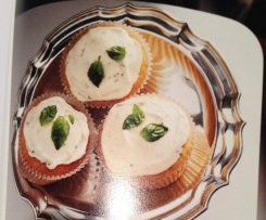 Sweet Basil and Olive Oil Cupcakes