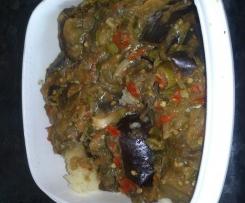 eggplant chilli stir fry