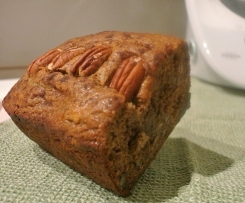 Healthy Banana, Pecan Apricot Loaf