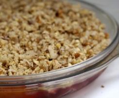 Too Easy Crumble (GAPS, Paleo, Grain/Dairy/Gluten Free)
