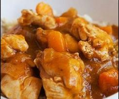 Variation Apricot Chicken