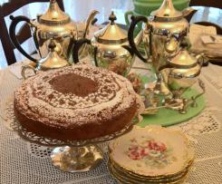 Apple, cinnamon  desert cake