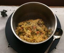 Huldah's Lemon Chicken Risotto - for 1