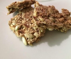 Raw Nutty Muesli Bars