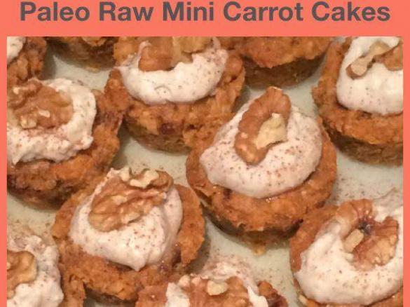Paleo vegan mini raw carrot cakes by leelee81 a thermomix sup thumbnail image 1 forumfinder Image collections