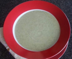 LCHF Cream of Broccoli Soup