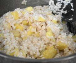 Coconut and Pinapple, Chicken Risotto