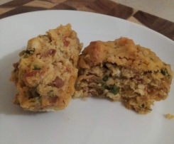 Sundried Tomato Basil and Pinenut Muffins