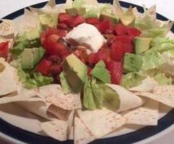 Bean Nacho Salad