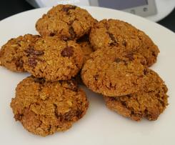 Healthy Carrot Cake Biscuits - Dairy Free