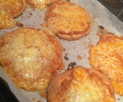 Mini Pizza bases with sneaky pumpkin (grain free, dairy free, nut free, paleo)