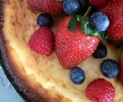 Baked Lemon and Yohgurt Cheesecake