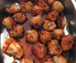 Chicken & Pork Meatballs