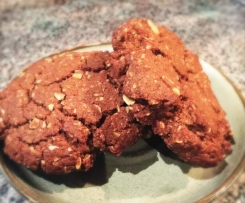 Dark Chocolate Anzac Biscuits