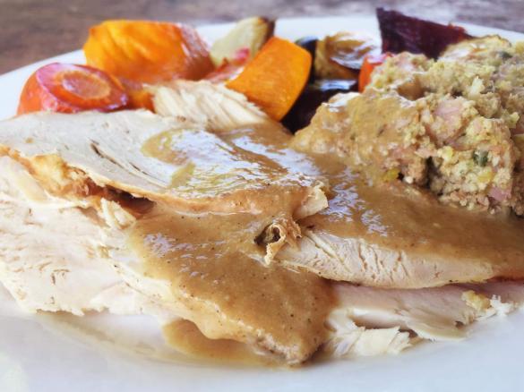 Christmas Roast.Christmas Roast Turkey