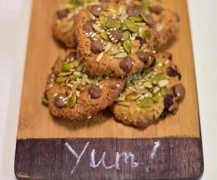 Nut Free Muesli Cookies