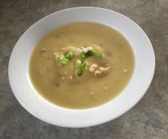 Velvet Chicken and Corn Soup