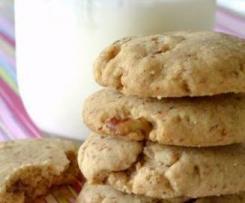 Vanilla Pecan Biscuits