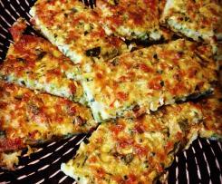 Zucchini Cheesy 'Bread'
