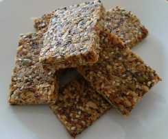 Figs and Seeds Bars - no bake and nut free
