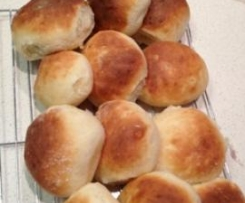 Baps - super soft breadrolls