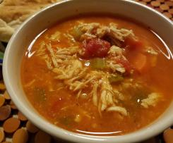 Chicken, Tomato and Barley Soup