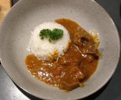 Sweet Lamb Curry - Retro