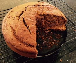 Pumpkin and Date Cake