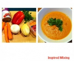Vegetable and Lentil Moroccan Soup